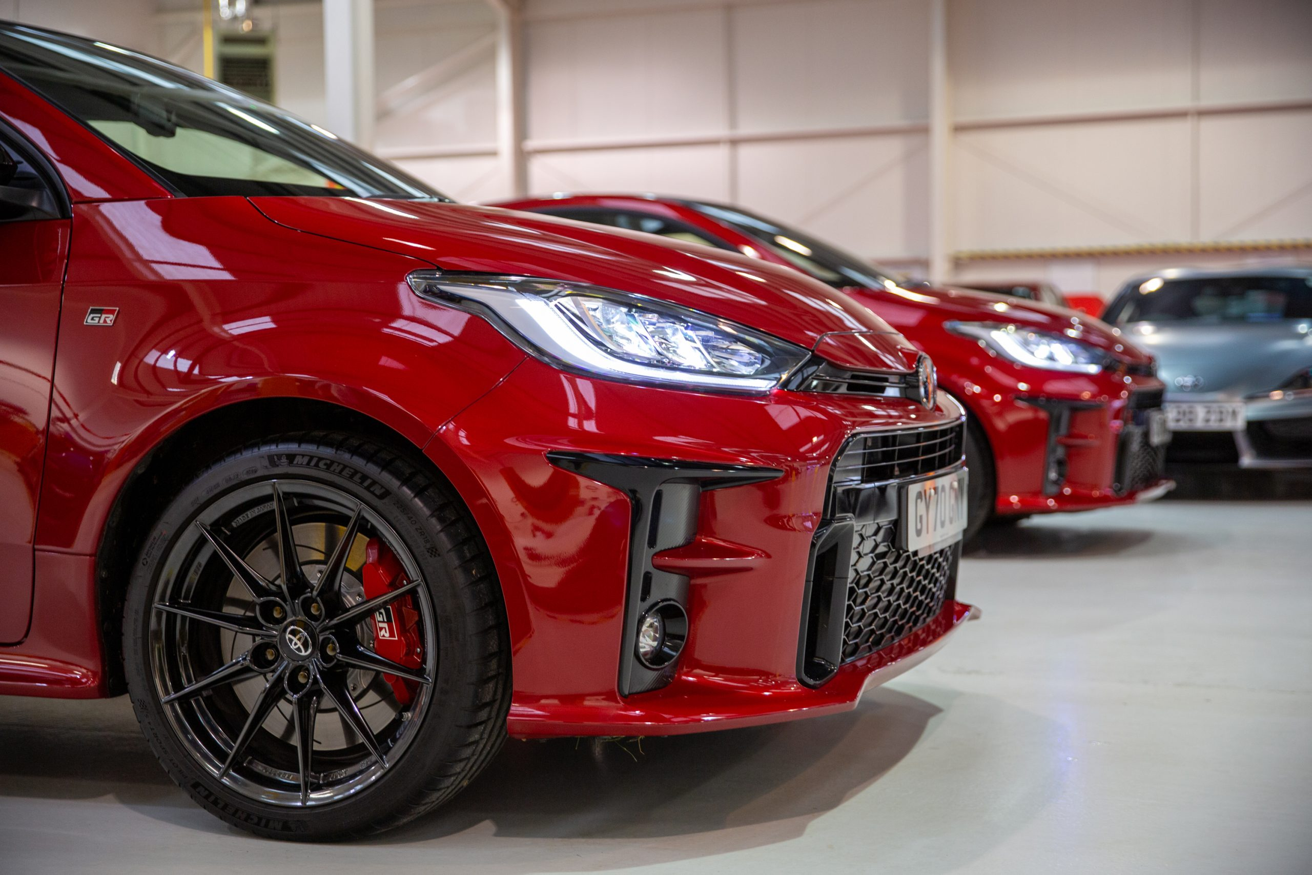 GR Toyota Yaris front fascia