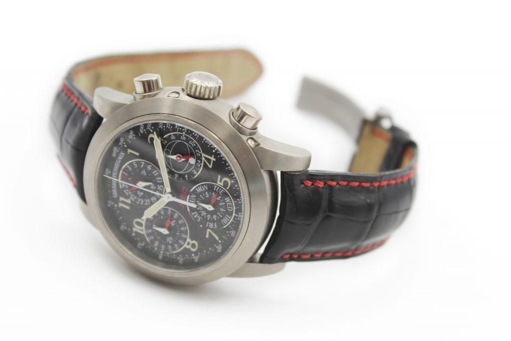 Girard Perregaux Ferrari watch face