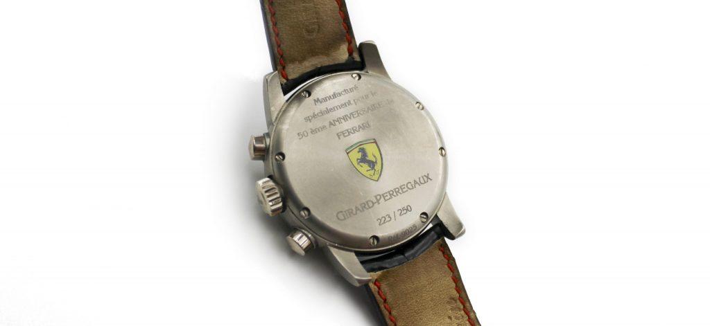 Girard Perregaux Ferrari watch backing