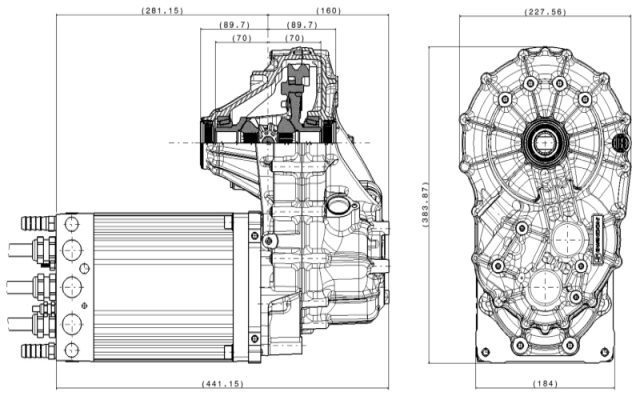 HPD E Engine schematic drawing