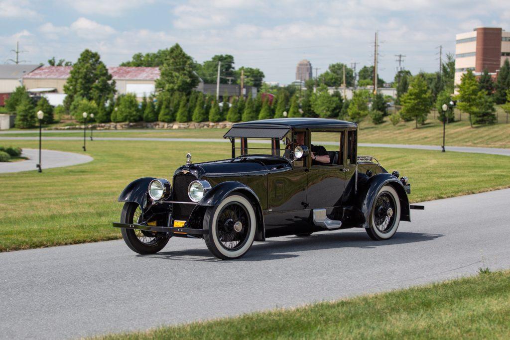 HVA - 1921 Duesenberg - Driving Experience - Full drivers side on road