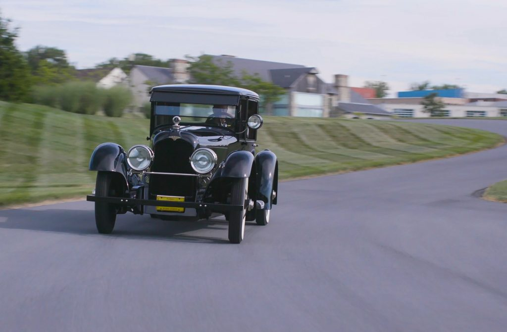 HVA - 1921 Duesenberg - Driving Experience - In motion from front