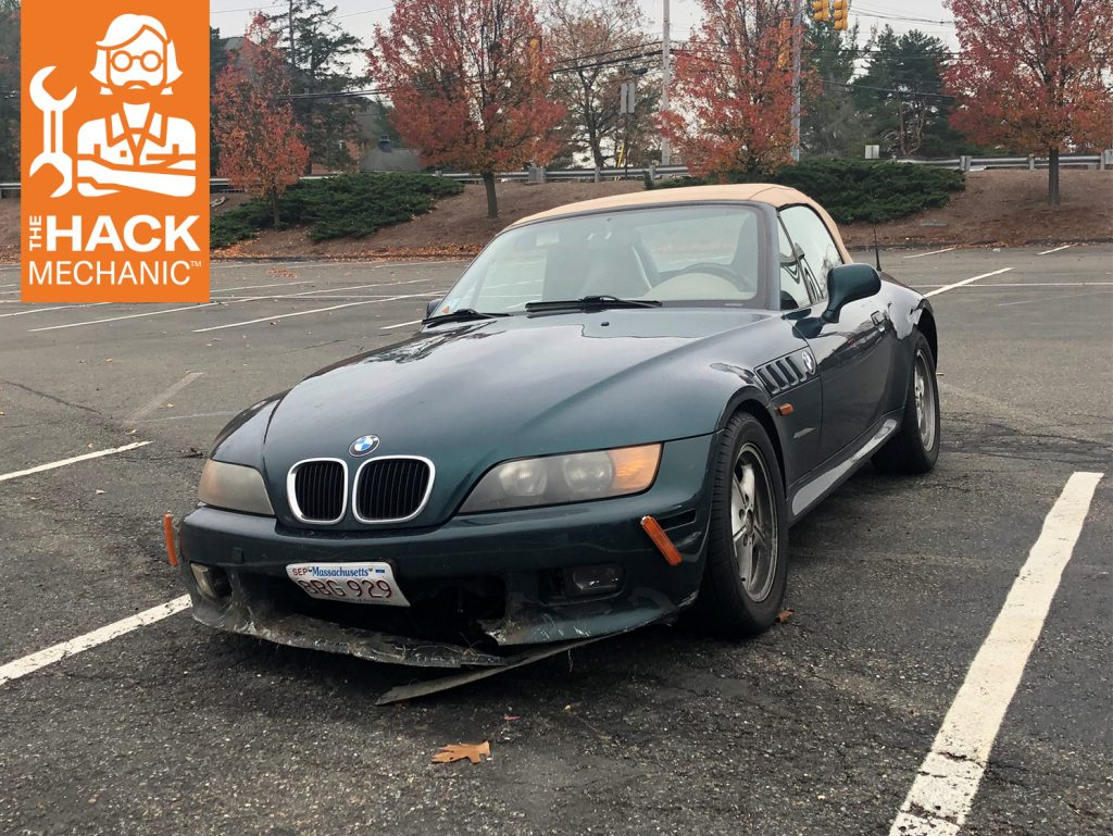 BMW Broken Bumper Rob Siegel