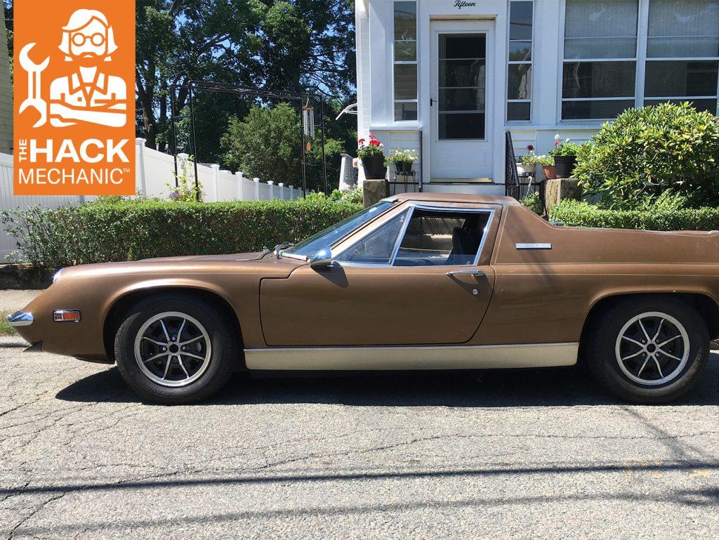 Rob Siegel Wheel and Tire Balancing Lotus side profile