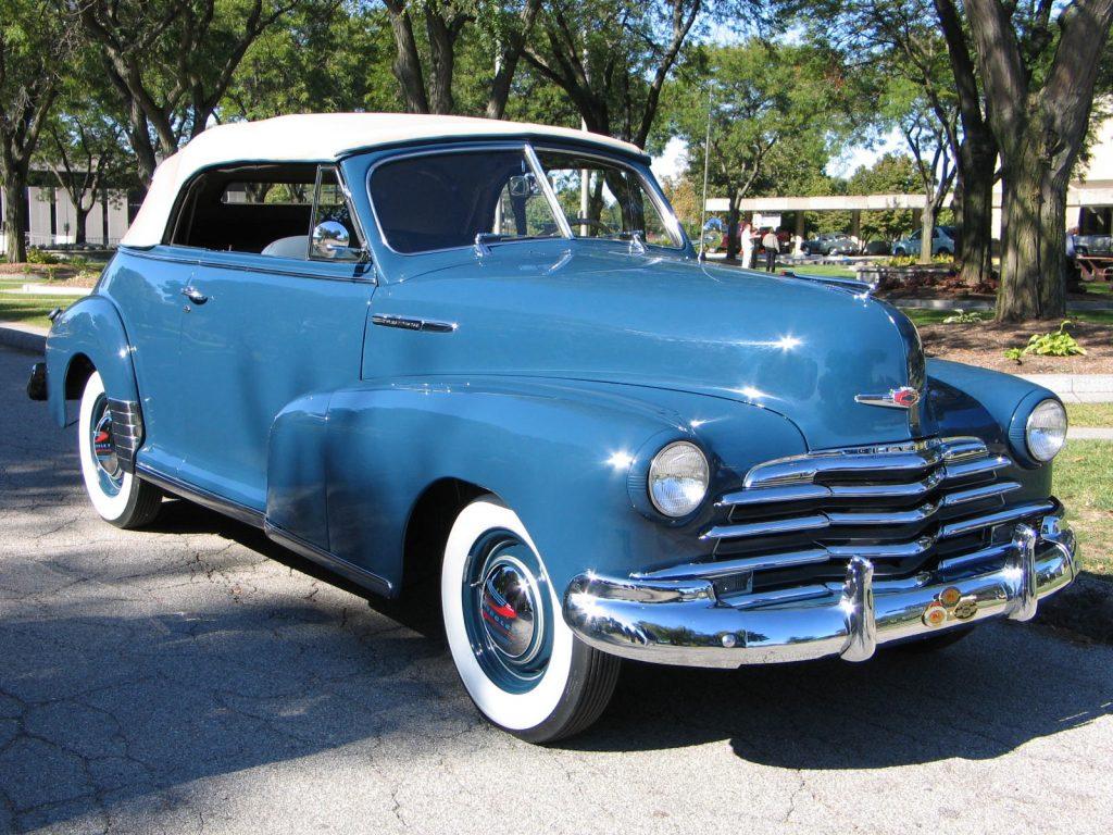 1947 Chevrolet Fleetmaster convertible sovis