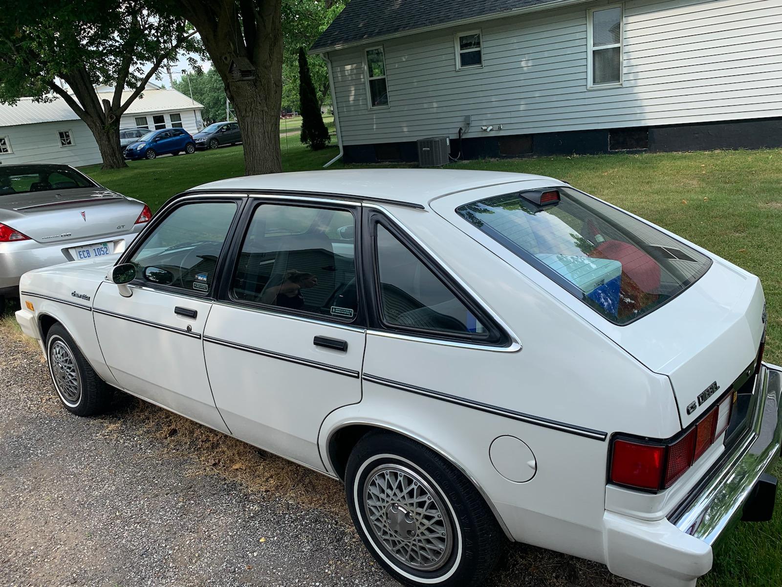 1986 Chevette diesel hatch sovis