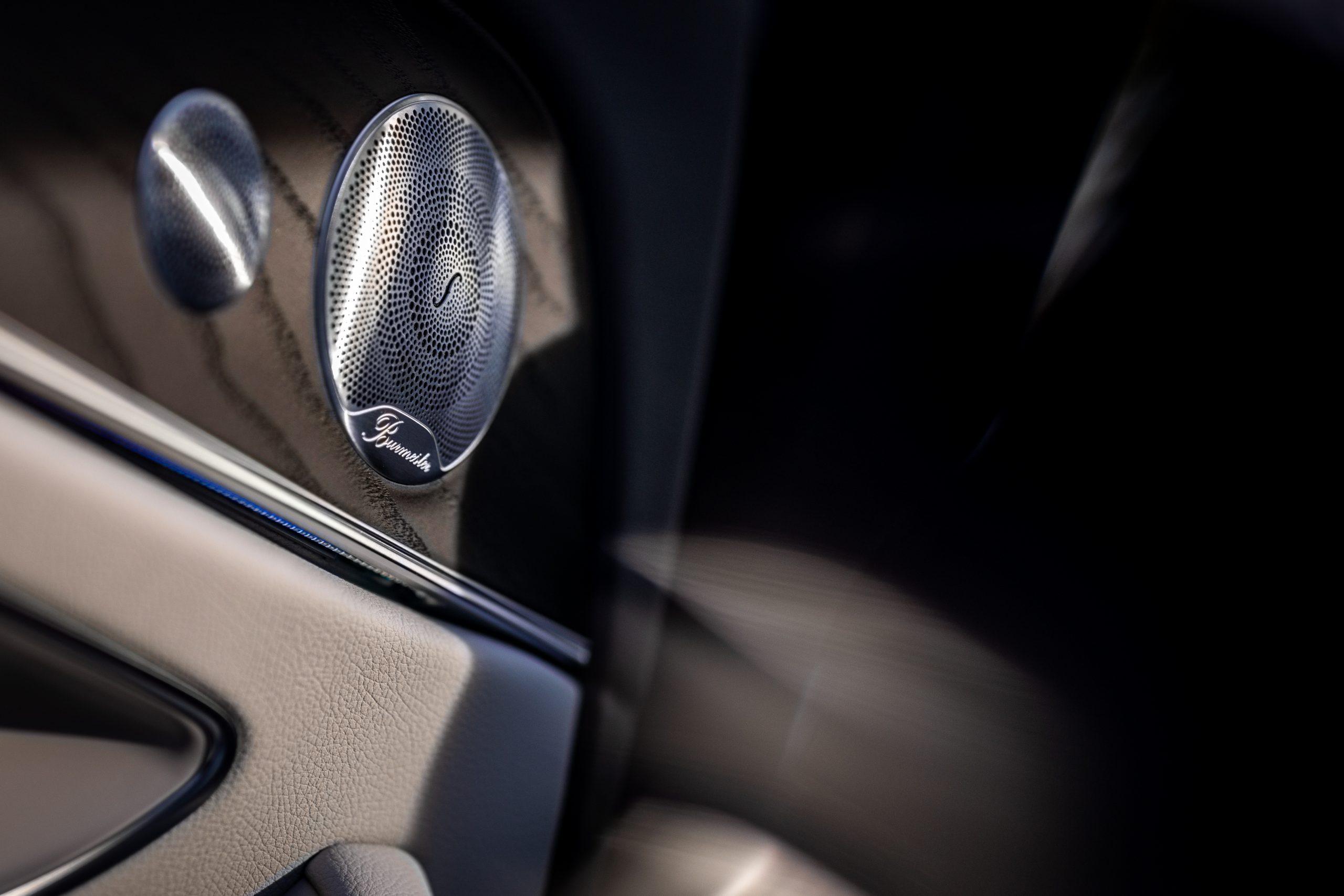2021 Mercedes Benz E 450 4MATIC speaker detail