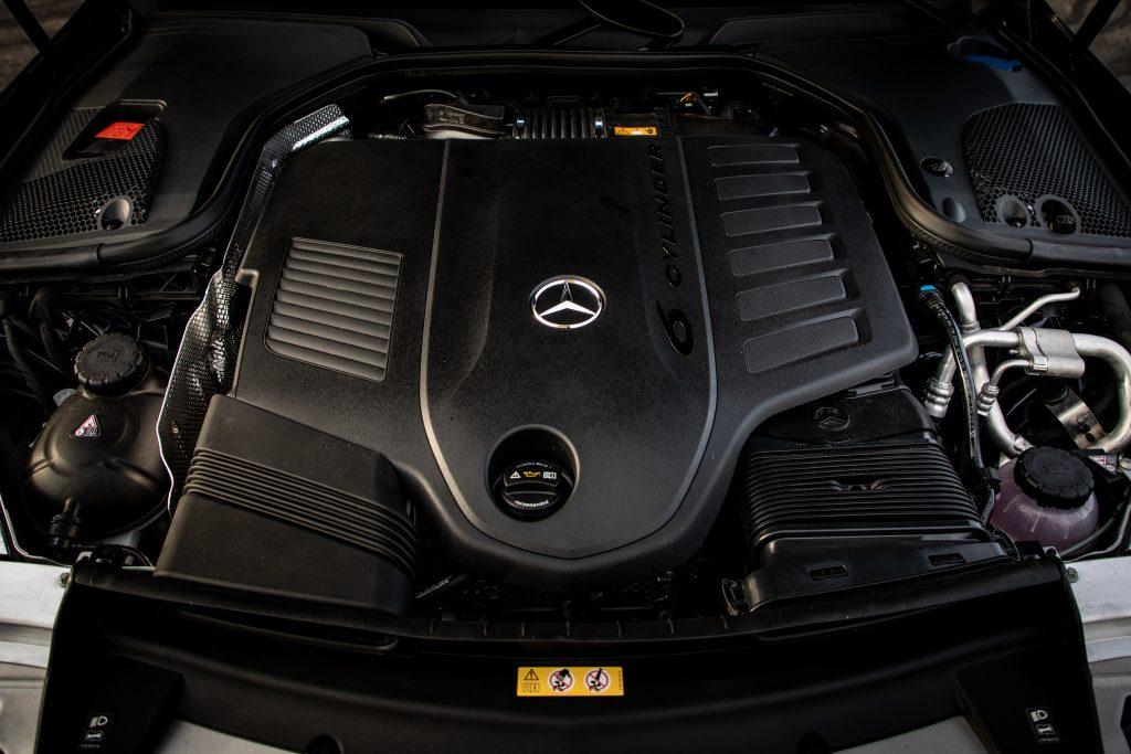 2021 Mercedes Benz E 450 4MATIC engine inline six M256
