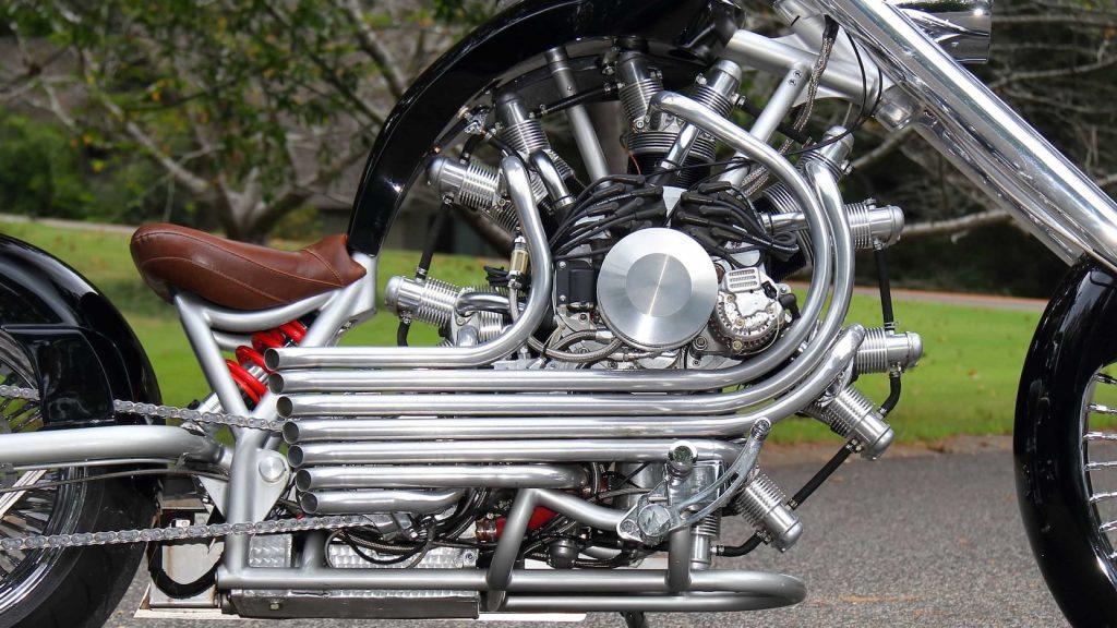JRL Lucky 7 engine
