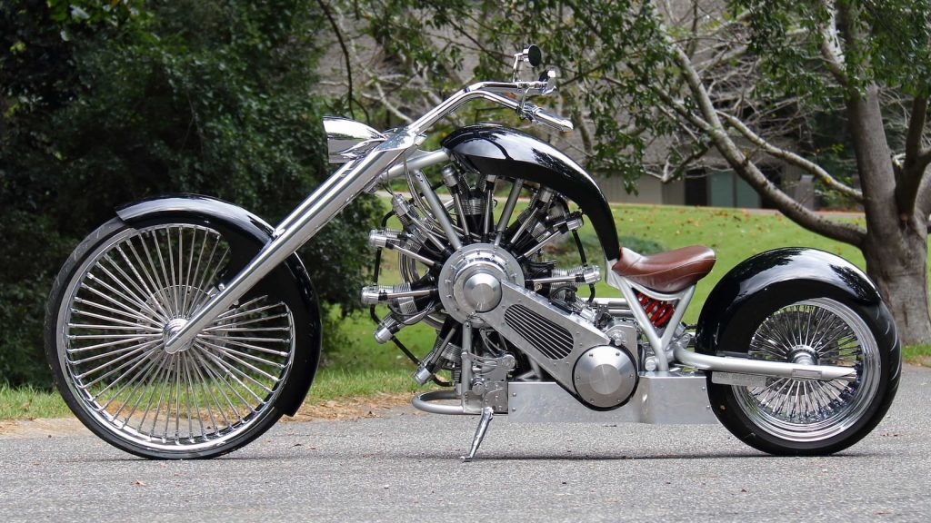 JRL Lucky 7 motorcycle