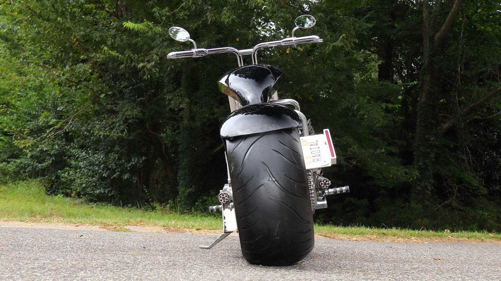 JRL Lucky 7 rear tire