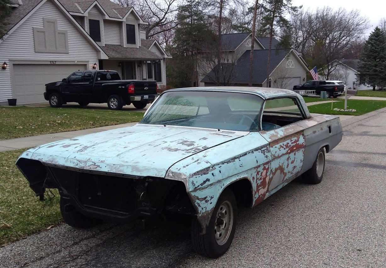 Jason Prince - 1962 Chevrolet Impala - Before resto - Full drivers side