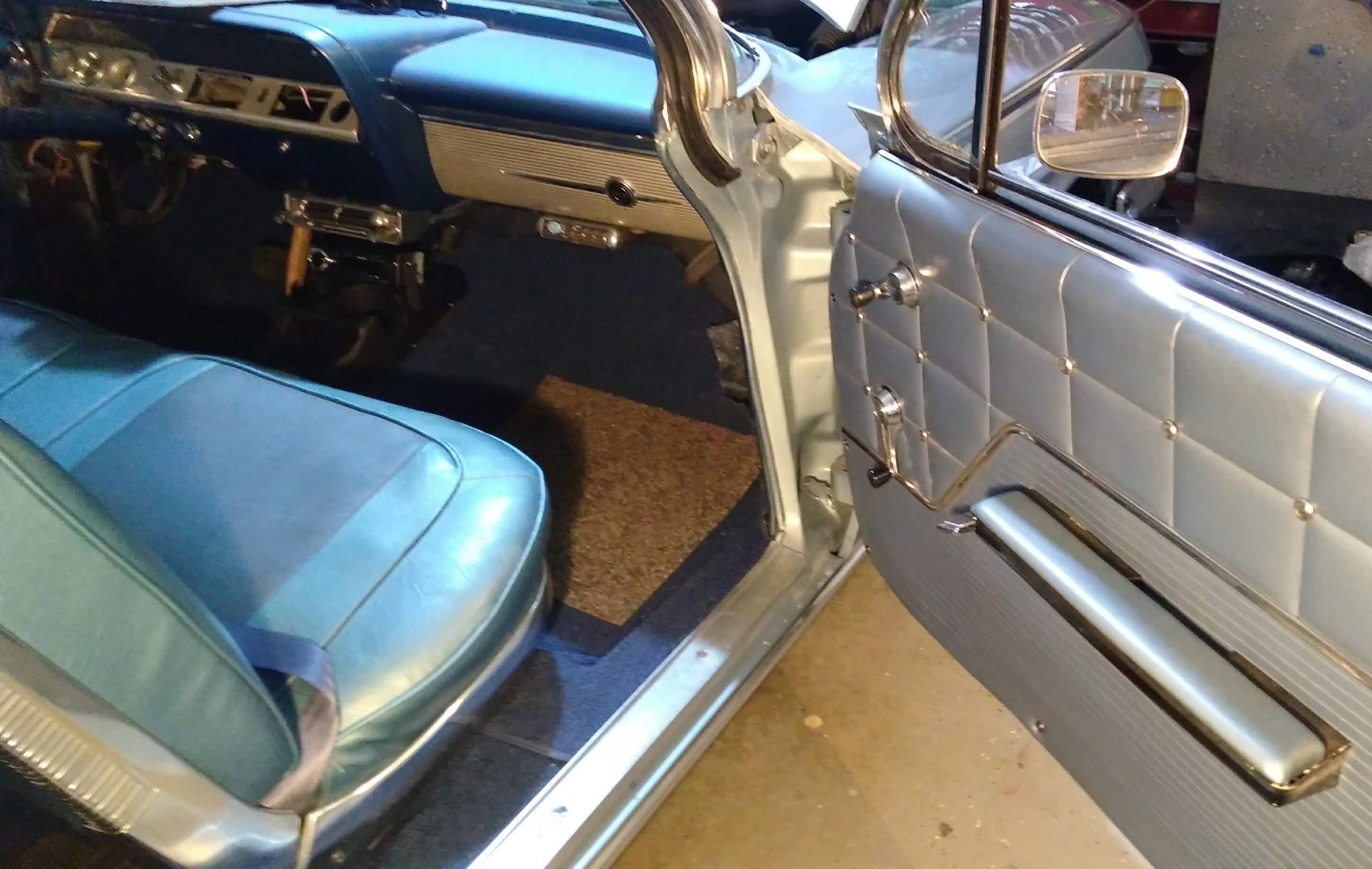 Jason Prince - 1962 Chevrolet Impala - Front interior finished
