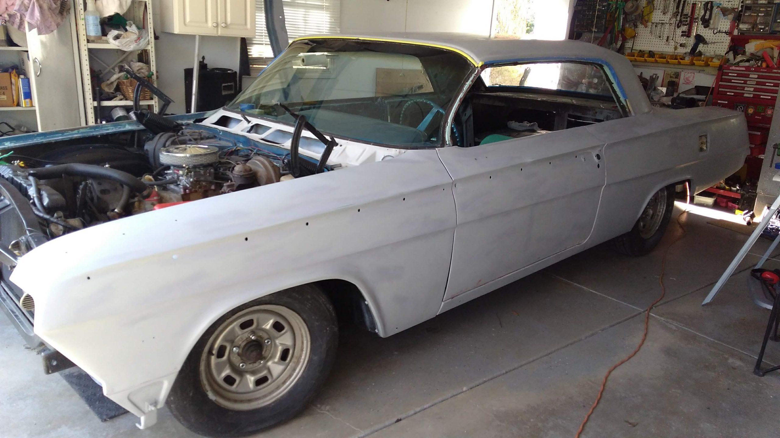 Jason Prince - 1962 Chevrolet Impala - Primed