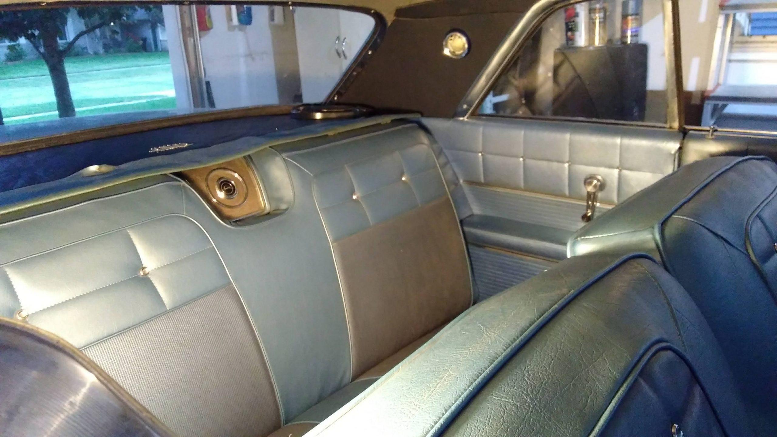 Jason Prince - 1962 Chevrolet Impala - Rear seats finished