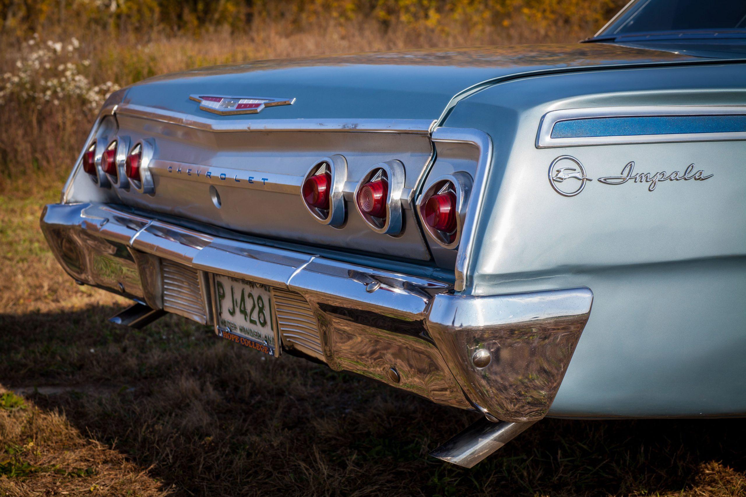 Jason Prince - 1962 Chevrolet Impala - close-up rear