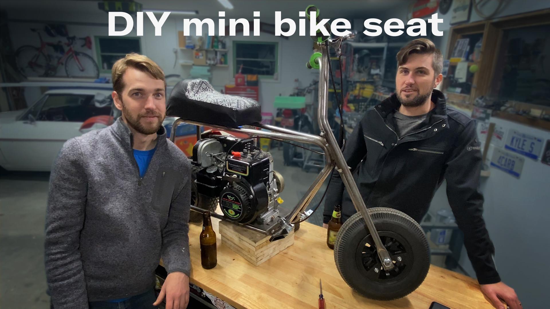 Kyle's garage mini bike seat