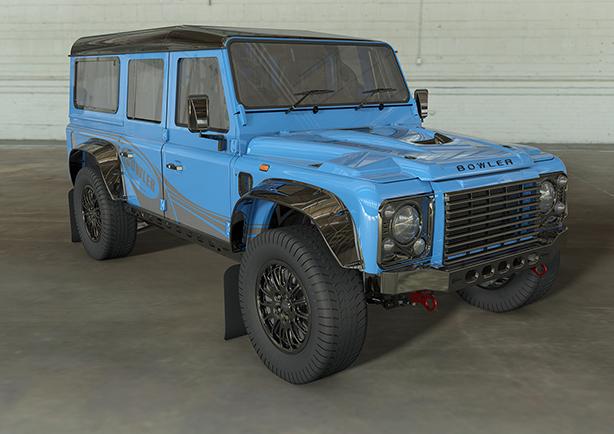 Land Rover Bowler Defender