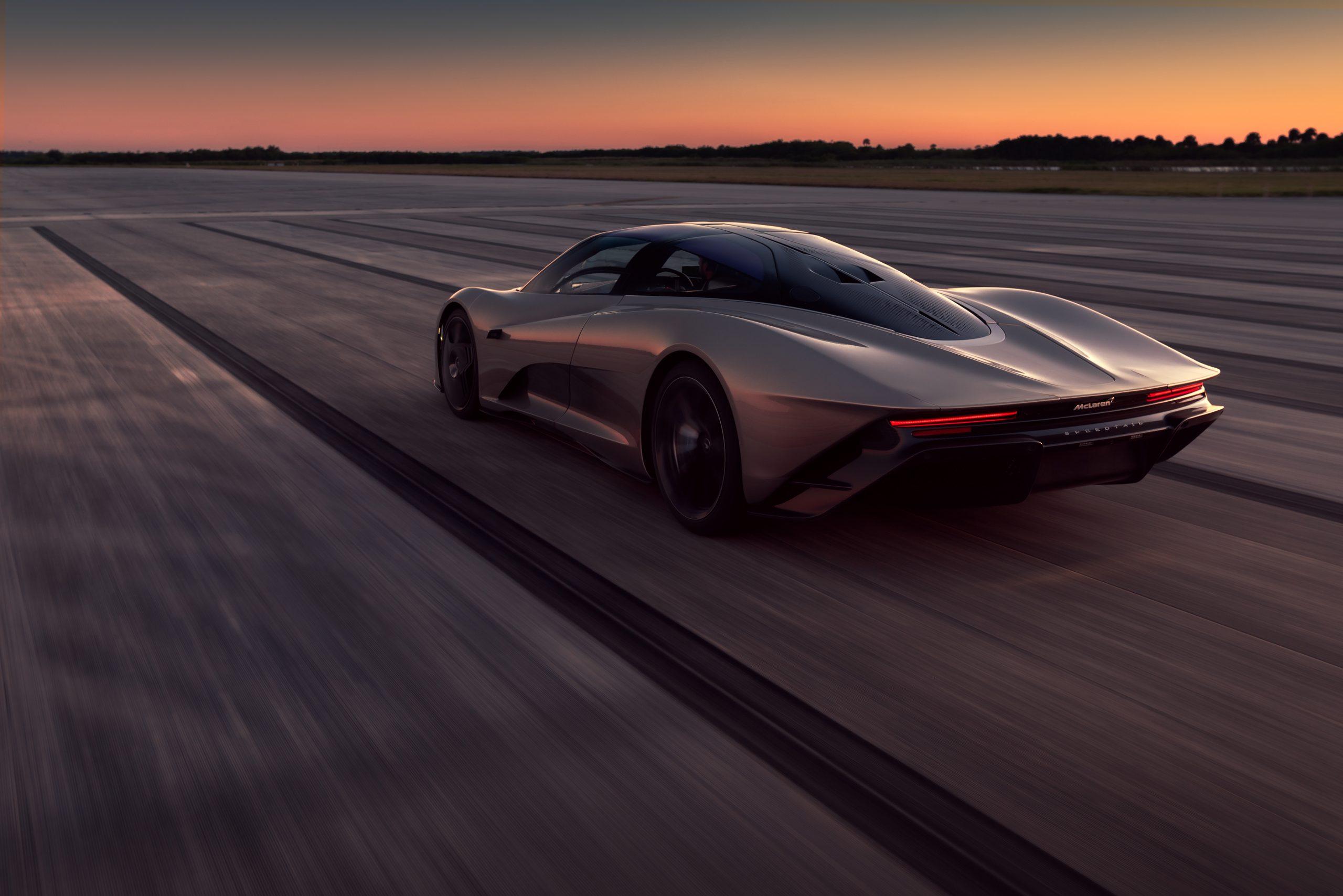 McLaren Speedtail hybrid Hyper-GT