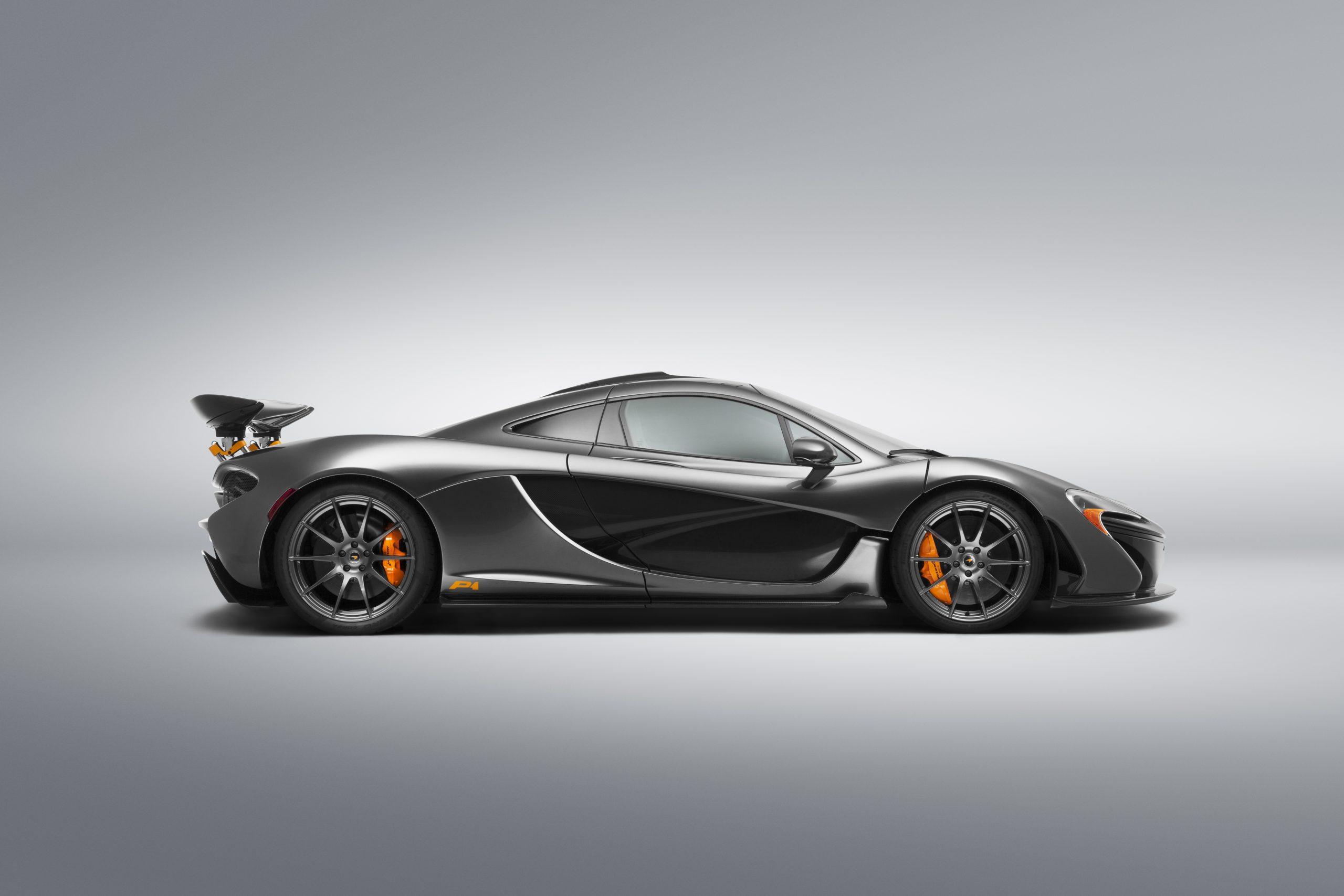 McLaren P1 MSO color scheme