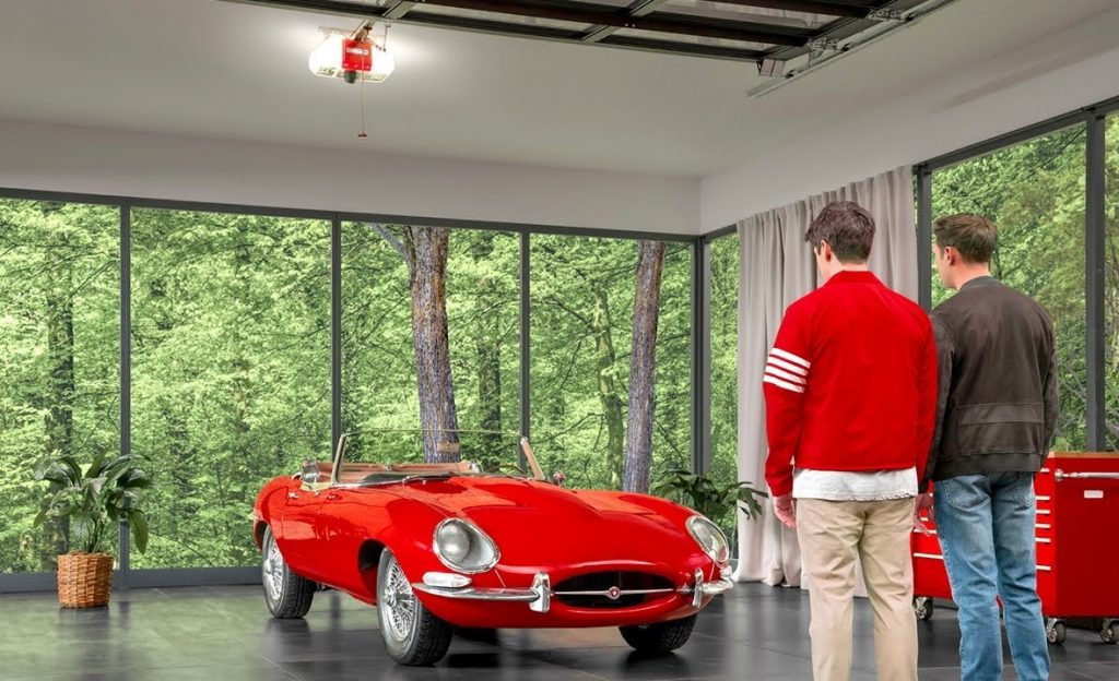 LiftMaster - Ferris Bueller commercial - Looking at the car