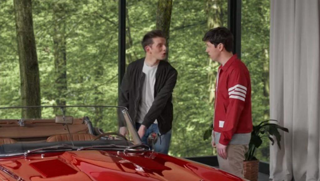 LiftMaster - Ferris Bueller commercial - Opening the car door