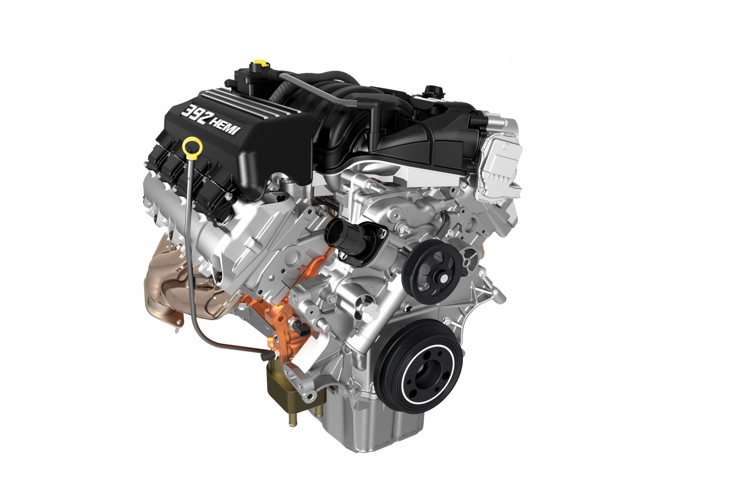 6.4-liter Crate HEMI® V-8 engine