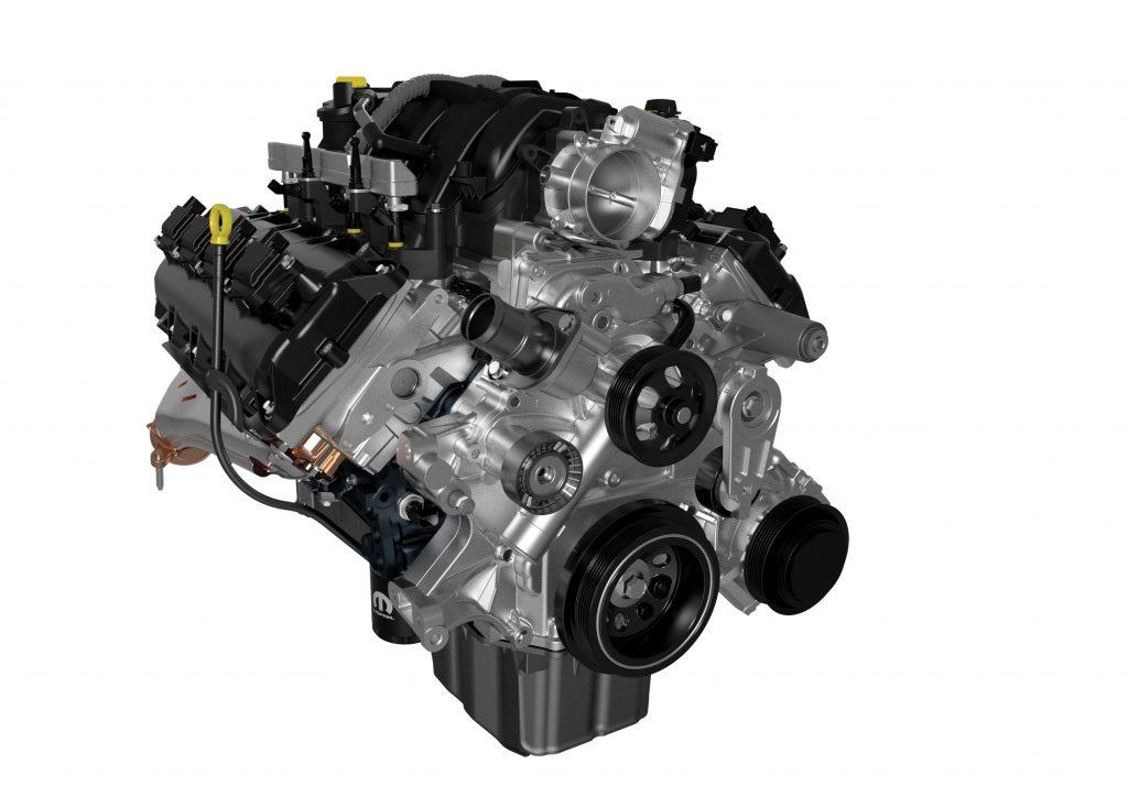 5.7-liter Crate HEMI® V-8 engine