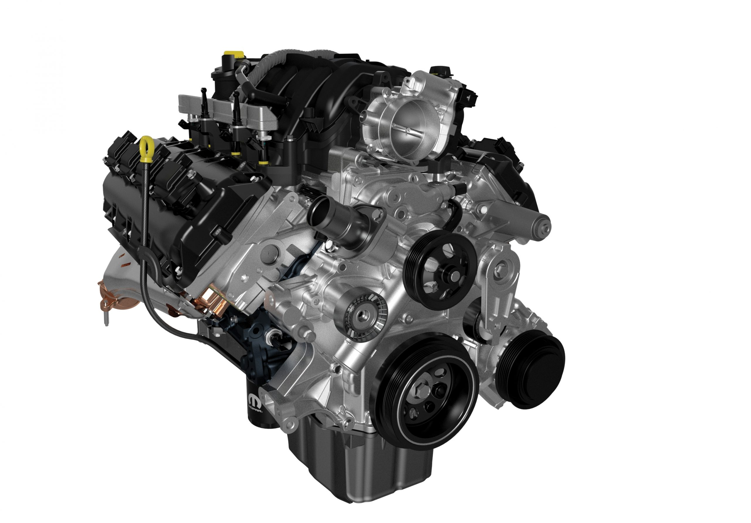 5.7-liter Crate HEMI® V-8 engine