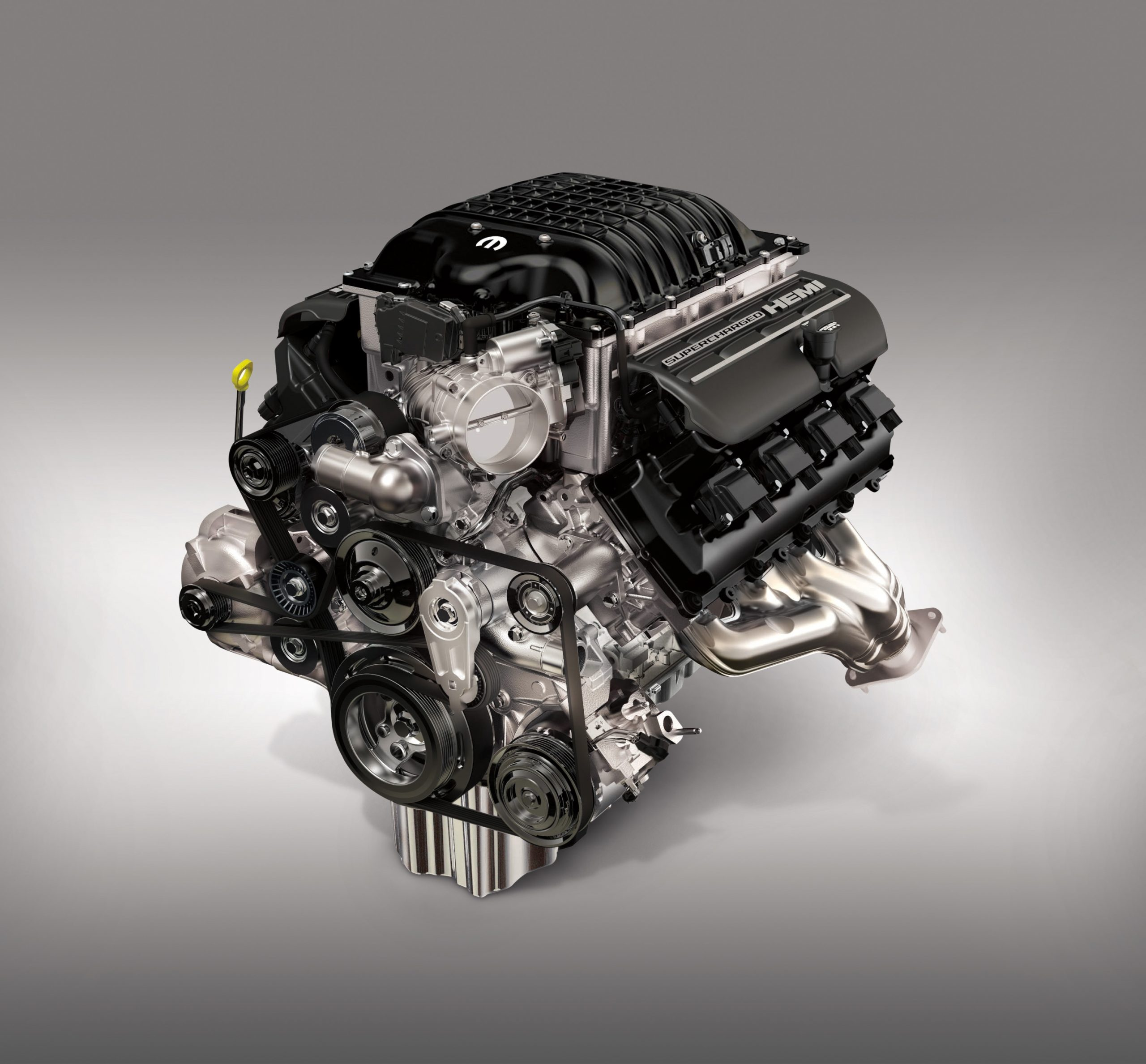 """Hellephant"" 426 Supercharged HEMI® V-8 engine"