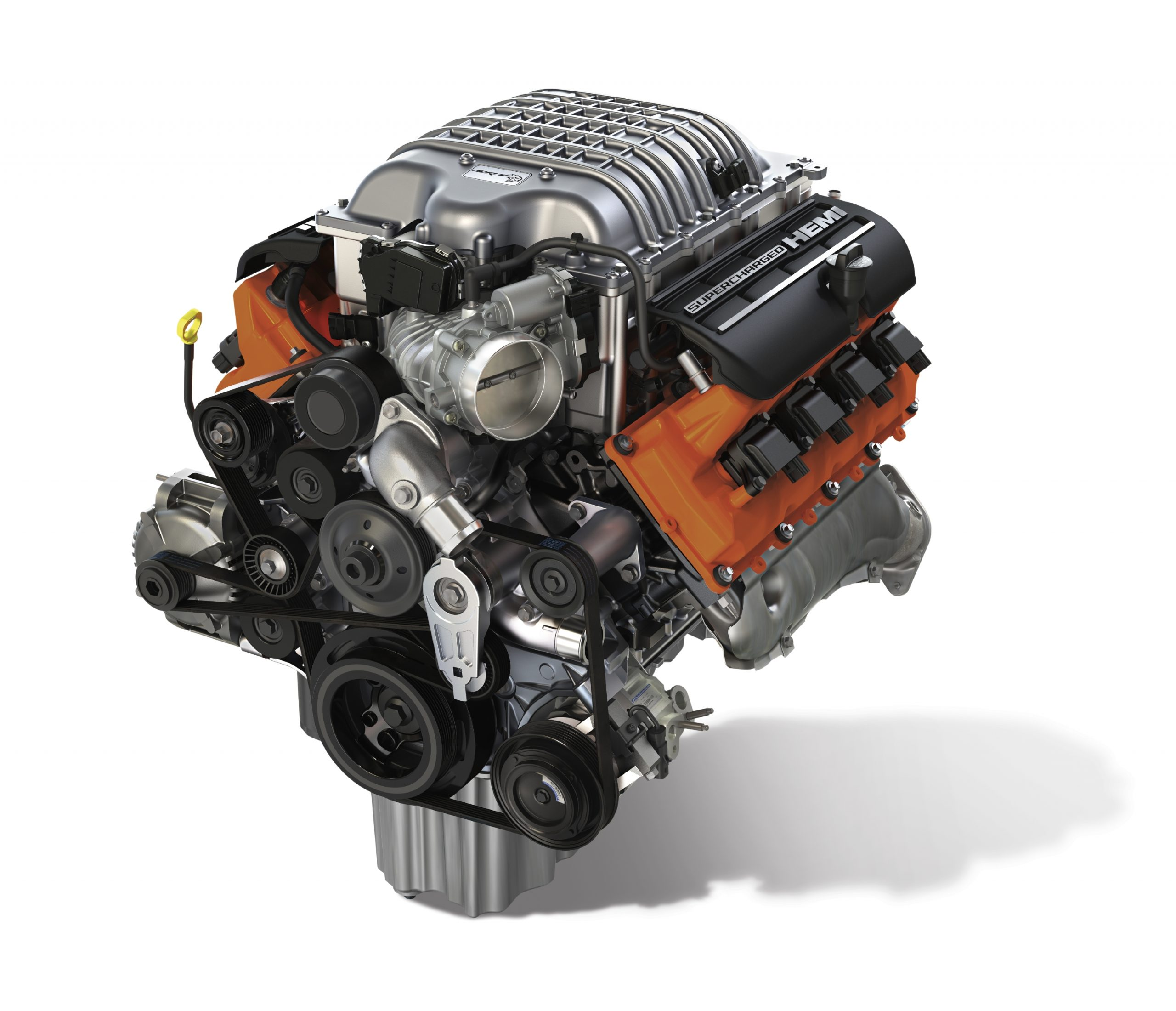 """Hellcrate"" 6.2-liter Supercharged HEMI® V-8 engine"