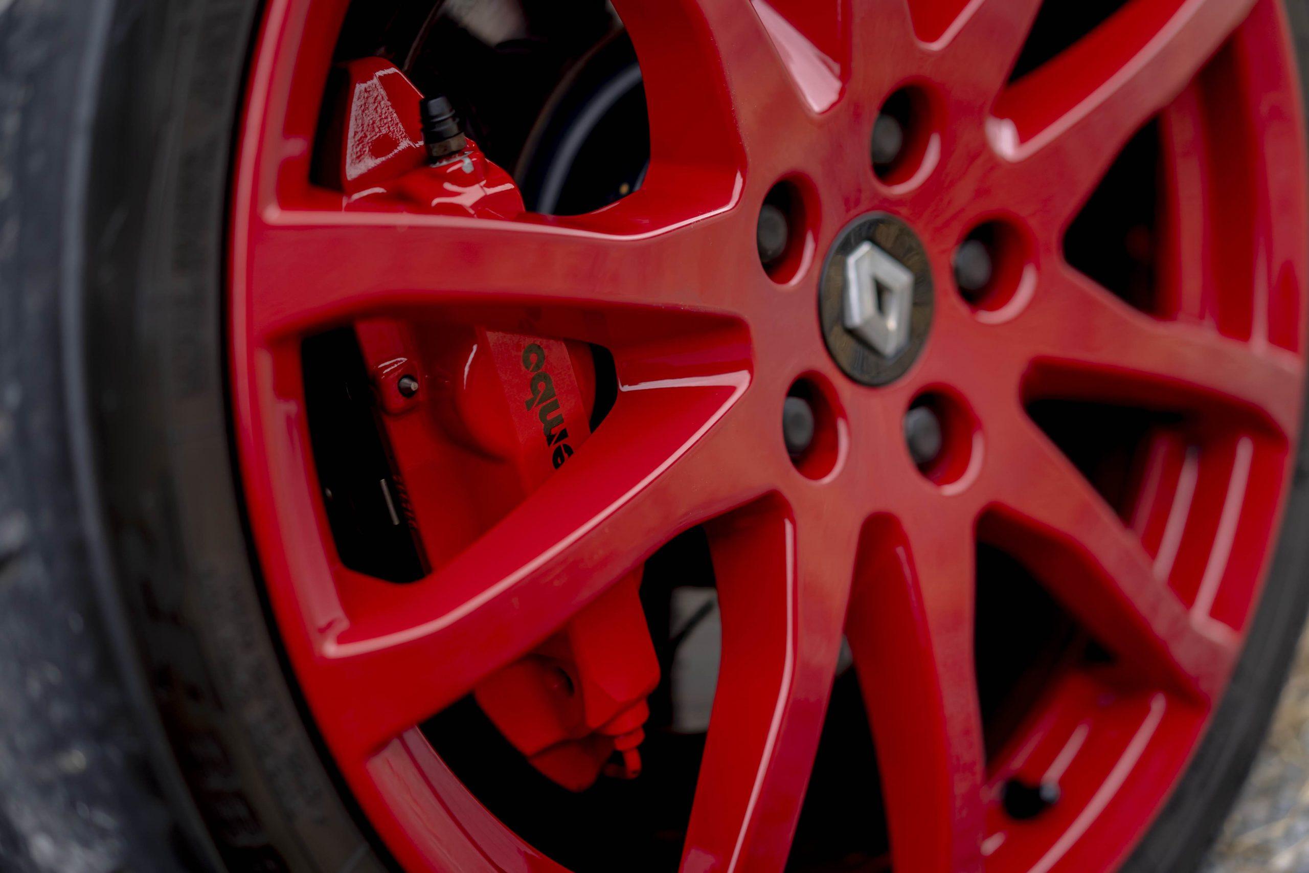 Renault Megane R26R wheel detail