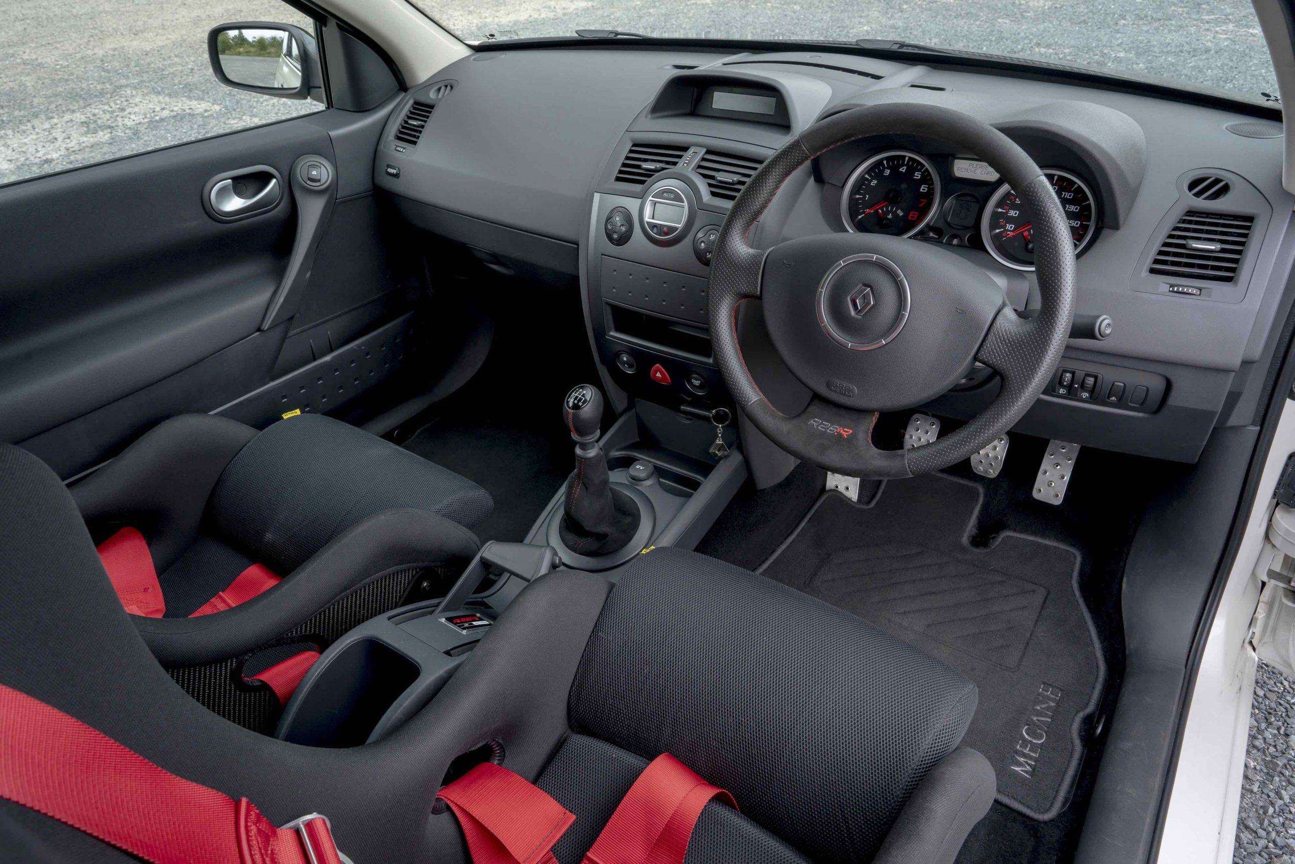 Renault Megane R26R interior drivers cockpit