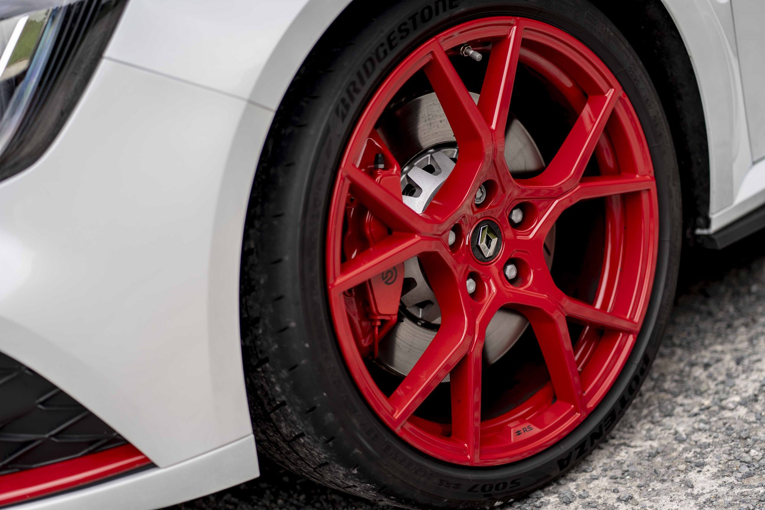 renault megane trophy r wheel detail