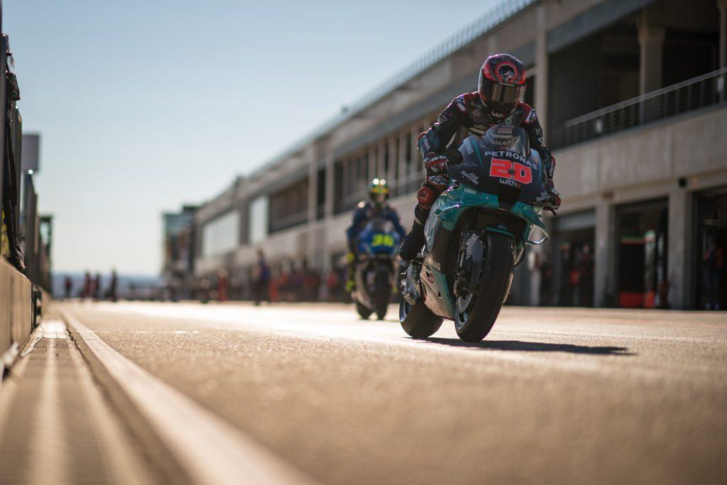 Fabio Quartararo moto gp practice pits