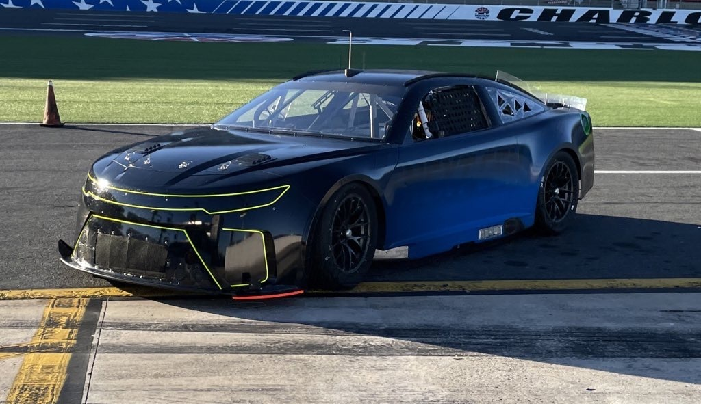 Our closest look yet at the NASCAR Next Gen prototype