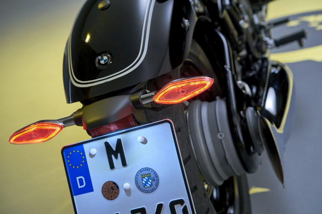 BMW r18 taillight close up