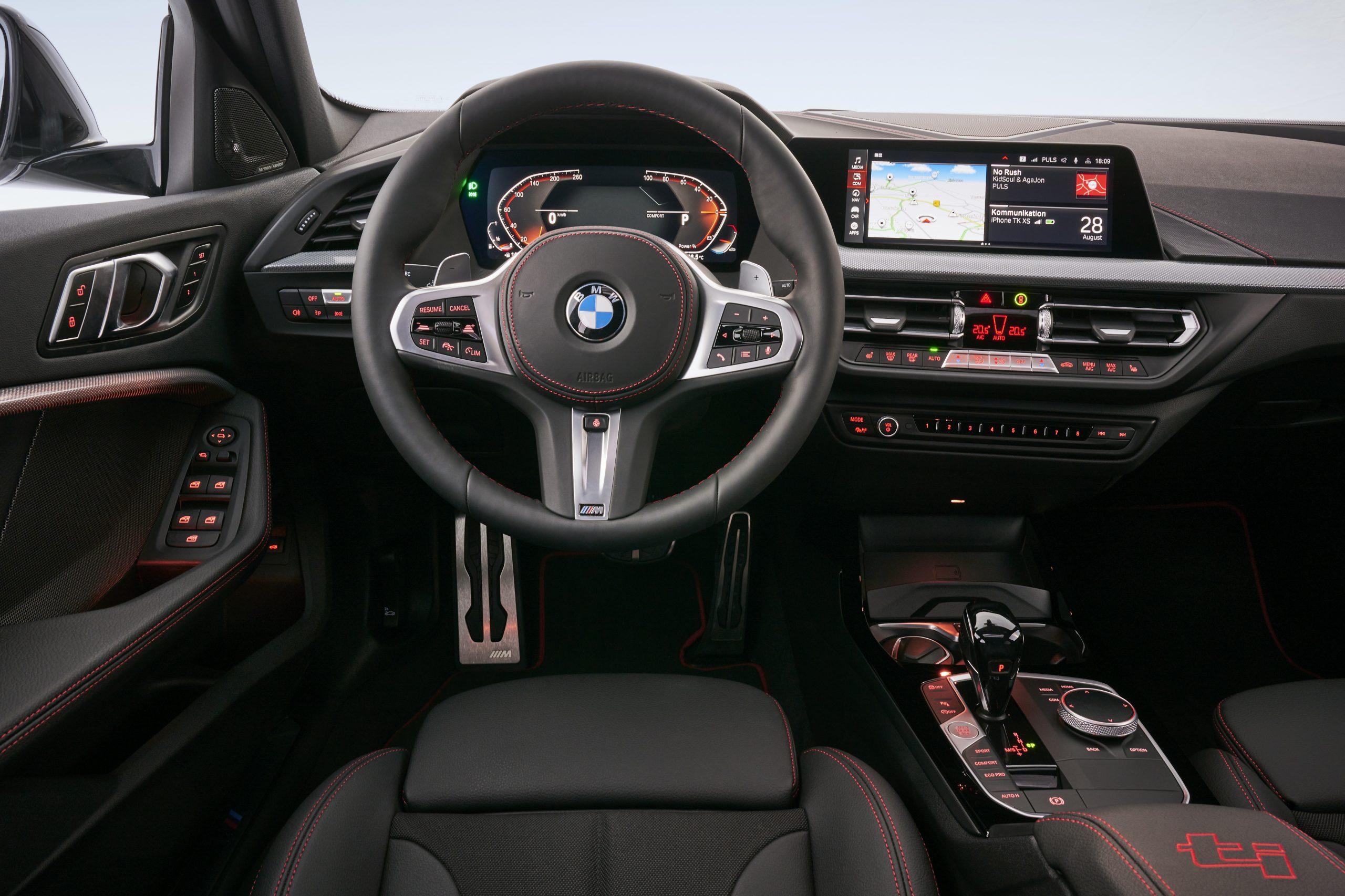 BMW 128ti interior 2