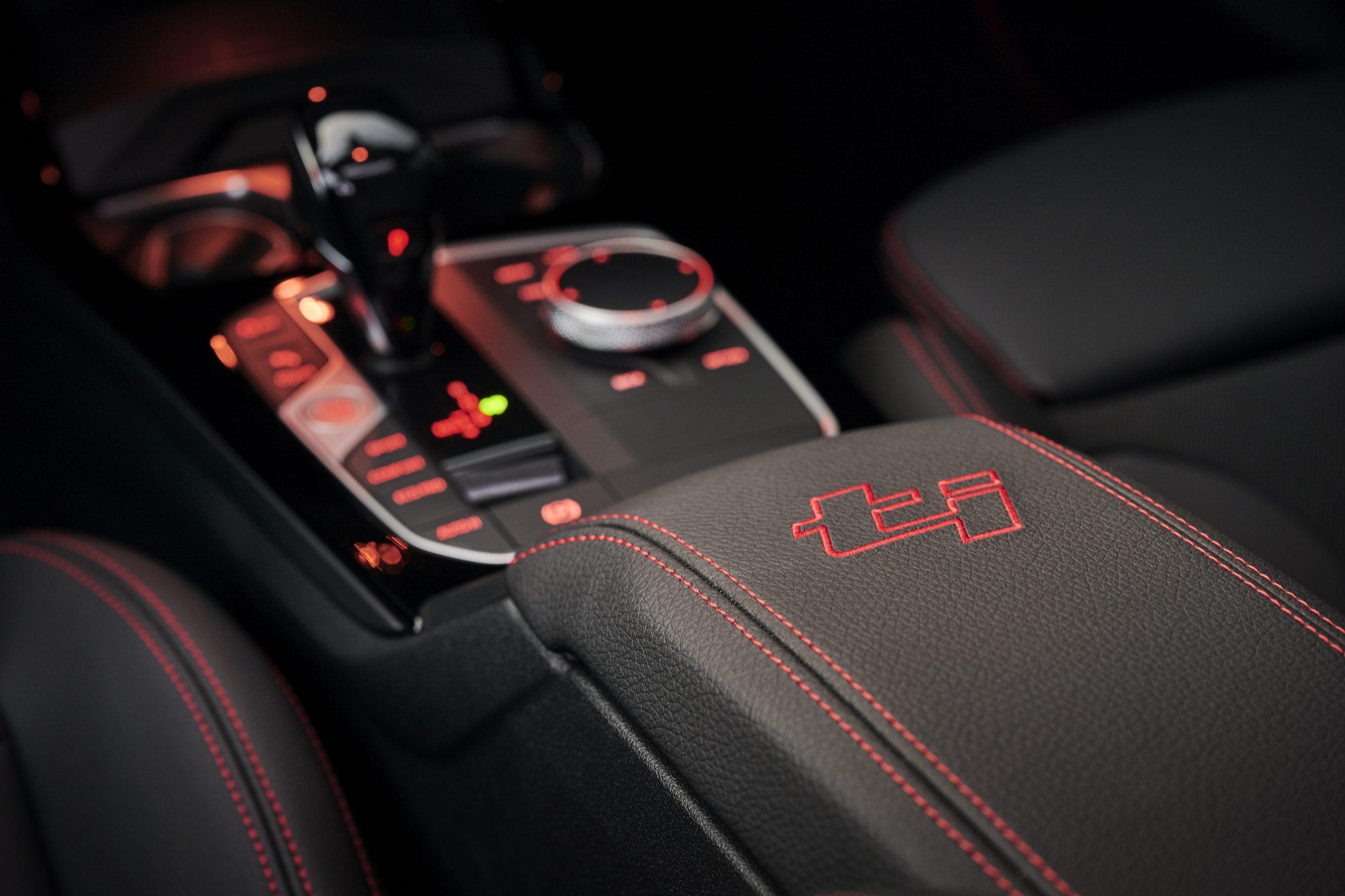 BMW 128 ti interior 3