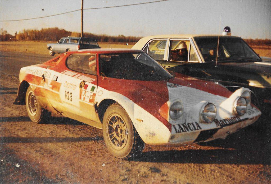POR rally 74 Lancia sheriff encounter
