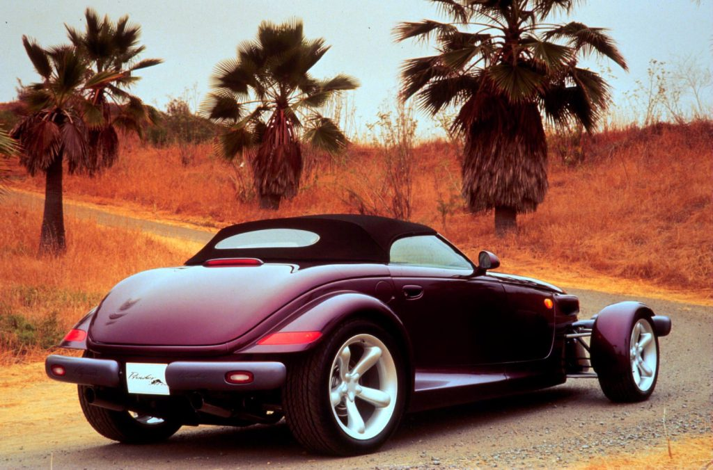 1997 Plymouth prowler rear three-quarter
