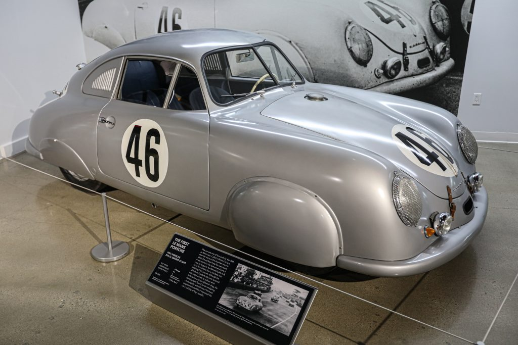 Porsche Redefining Performance Petersen Museum 356 Gmund