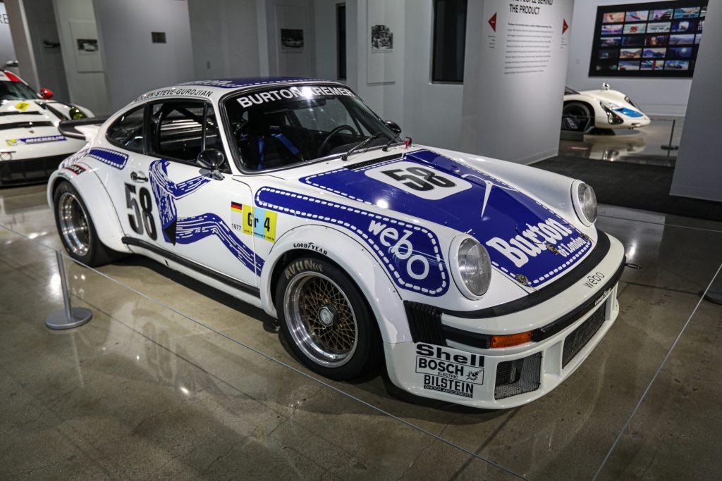 Porsche Redefining Performance Petersen Museum 1977 934 RSR Turbo