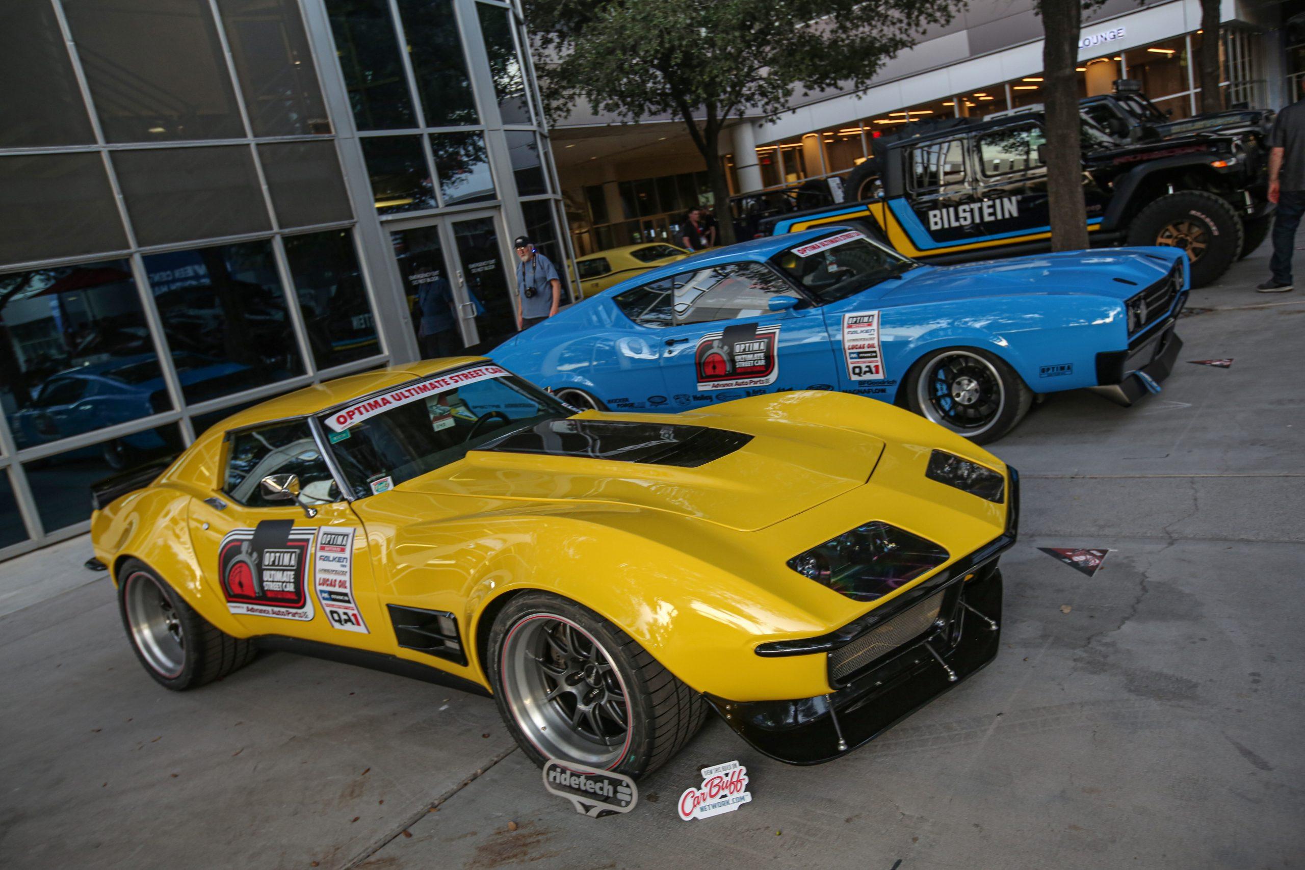 Pro Touring Mercury and Stingray