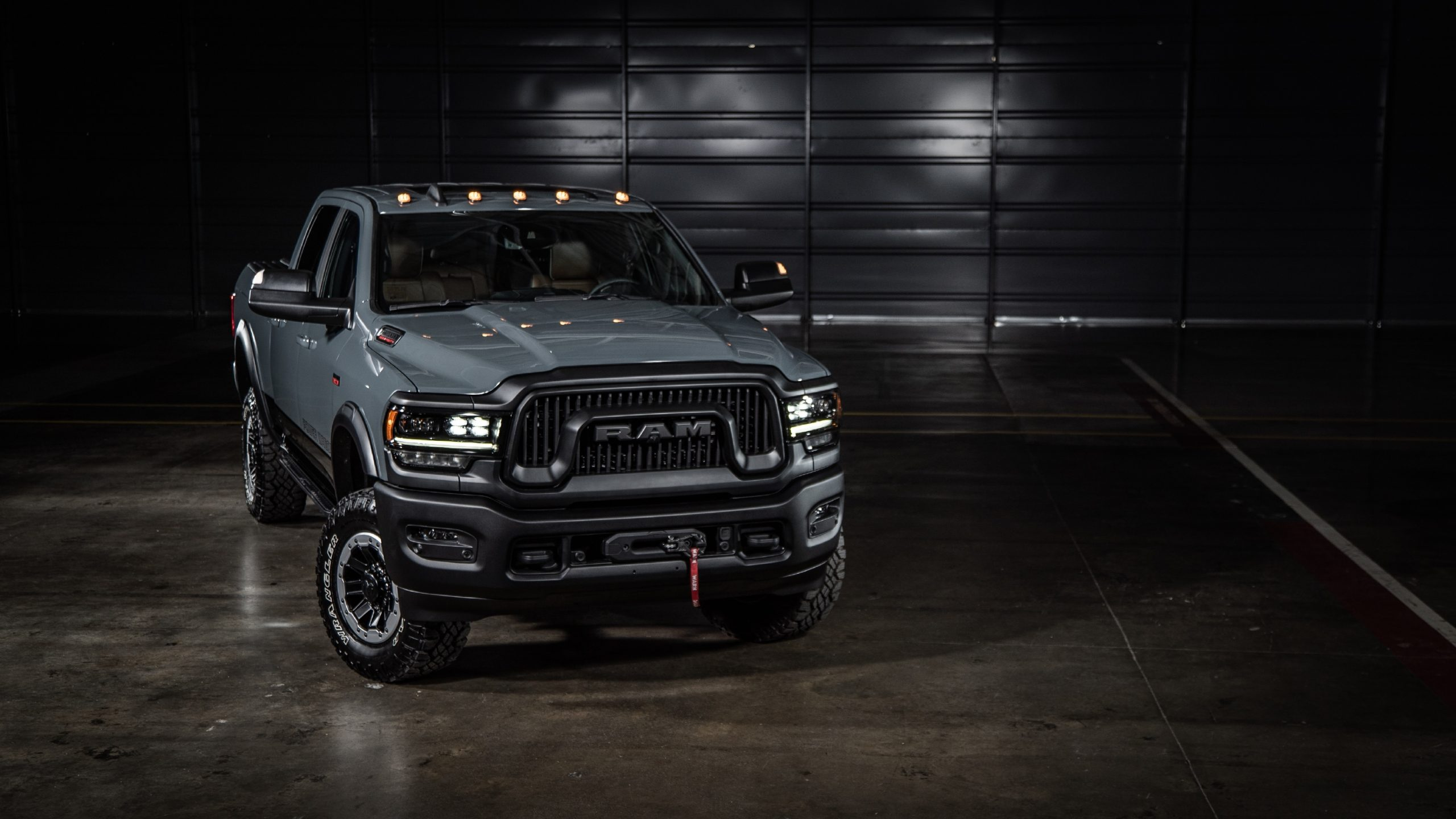2021 Ram Power Wagon 75th Anniversary Edition front 3/4