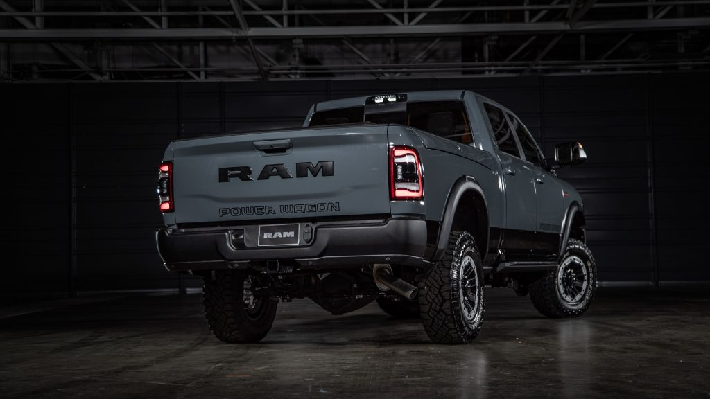 2021 Ram Power Wagon 75th Anniversary Edition rear3/4