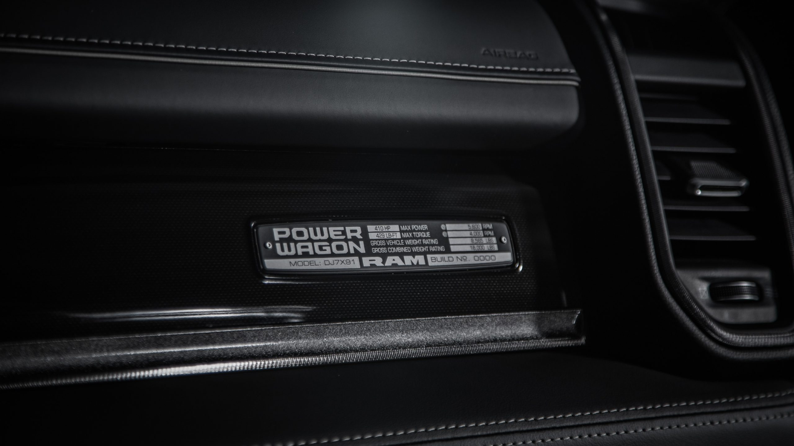 2021 Ram Power Wagon 75th Anniversary Edition badge