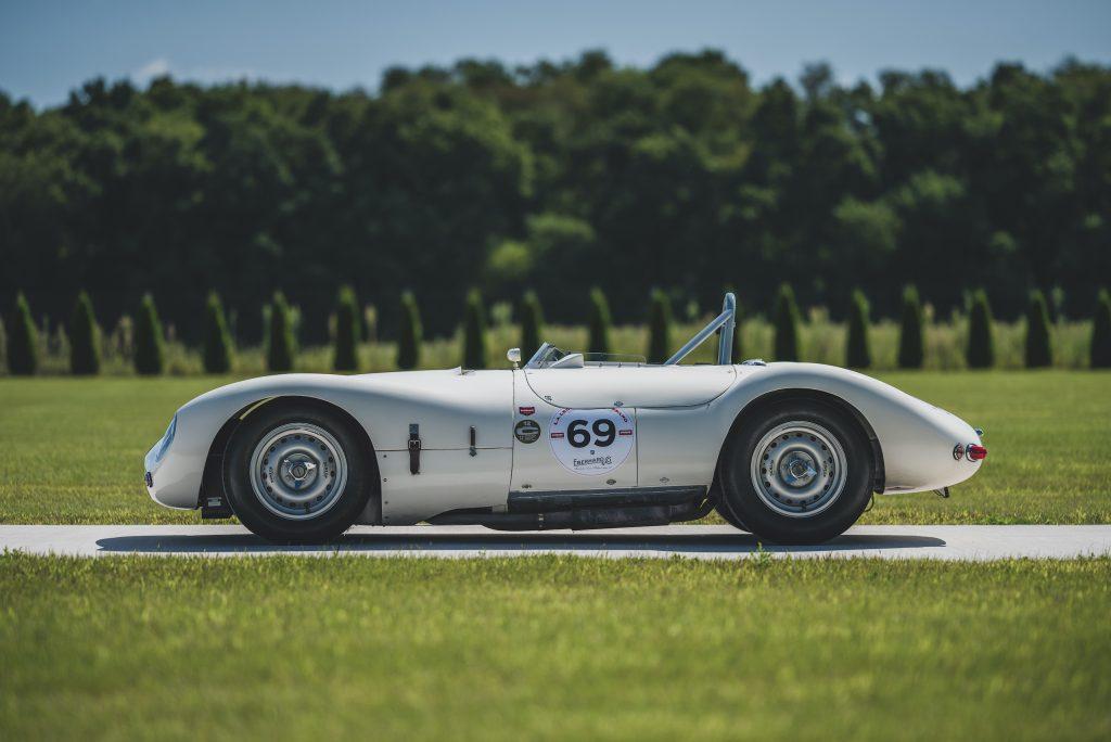 vintage Cooper Jag T38 side profile