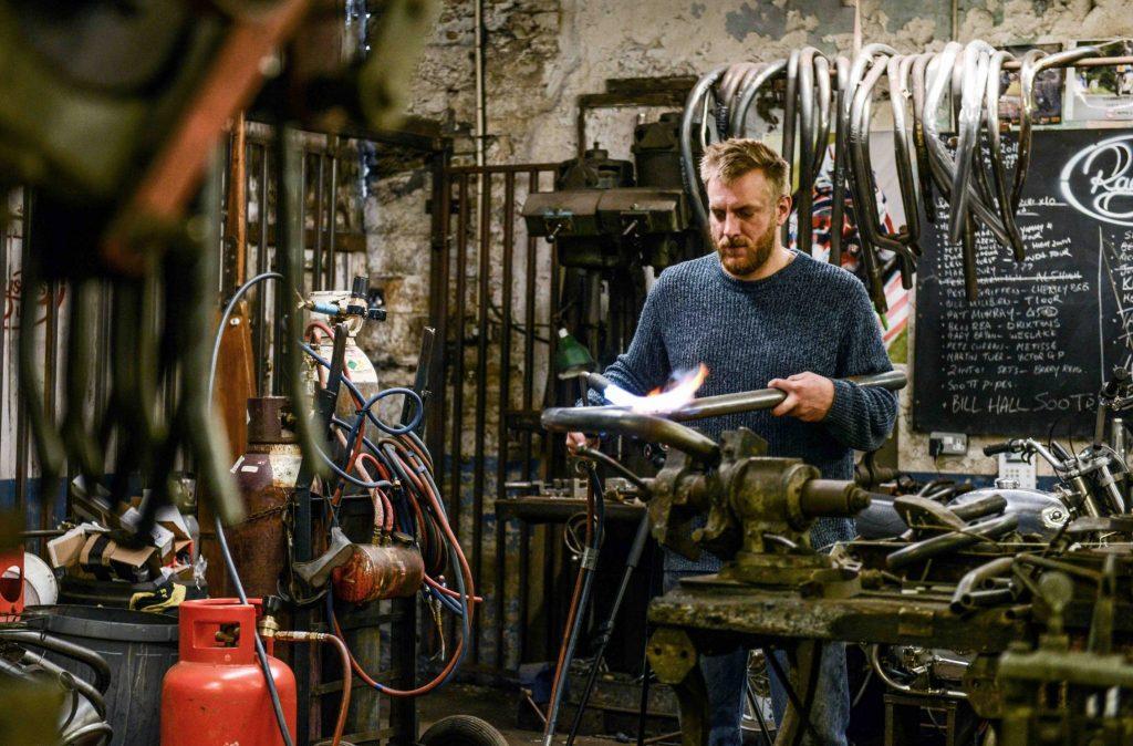raysons exhausts workshop ben hardman
