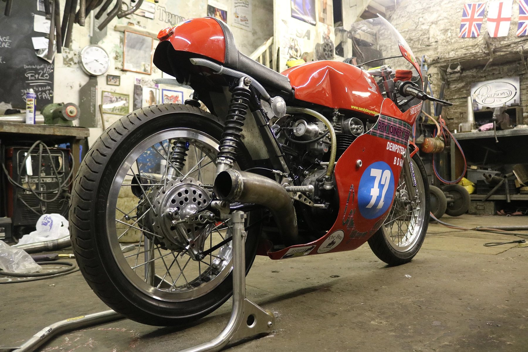raysons exhausts workshop project